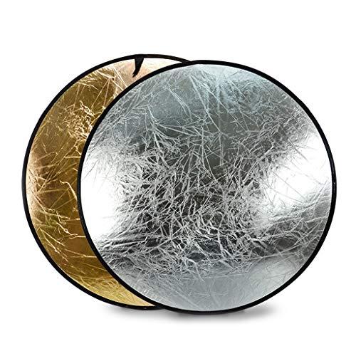 ZB-KK SZQ-Reflector 110cm Twee in Een Fotografische Reflector Zachte Licht Vul Plaat Vouw Bruiloft Jurk Kind Foto Product Studio Camera Accessoires Foto Achtergronden