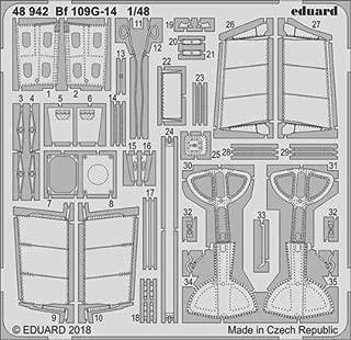 Eduard 1:48 Bf 109G-14 Color PE Detail Set 48942