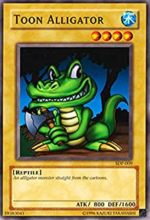 Yu-Gi-Oh! - Toon Alligator (SDP-009) - Starter Deck Pegasus - 1st Edition - Common