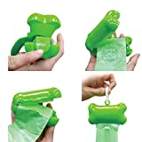 Green'N'Pack 40 Count Dispenser & 2 Refills Dog Waste Bags