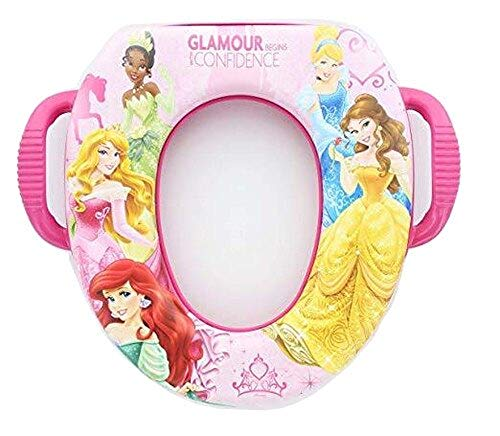 Licensed Characters Soft Potty Seat (Princess)