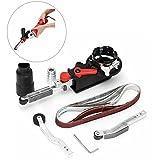 Drillpro DIY Mini lijadora de cinta, essort Lima eléctrica adaptador...