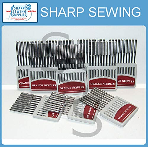 Find Discount Super Sewing Supplies for Pegasus 516-4-26 OVERLOCK Needles SYS. B27 Size#12BP (100 Ea...