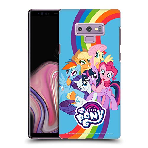 Head Case Designs Officially Licensed My Little Pony Group Character Art Hard Back Case Compatible with Samsung Galaxy Note9 / Note 9