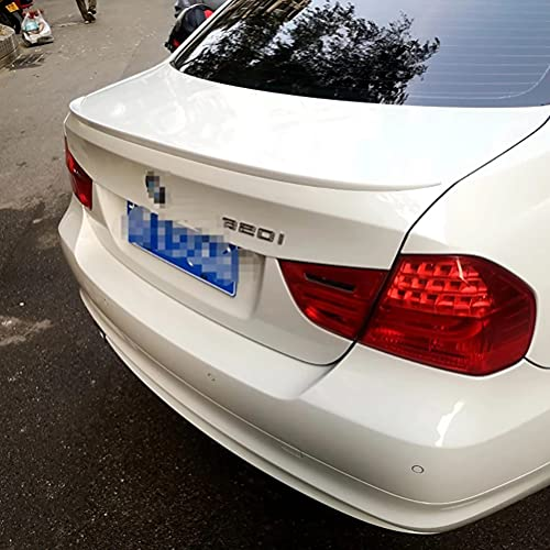 Alerón de labios de maletero trasero de coche para BMW E90 320i 320li 325li 328i Spoiler 2005-2011 de plástico ABS