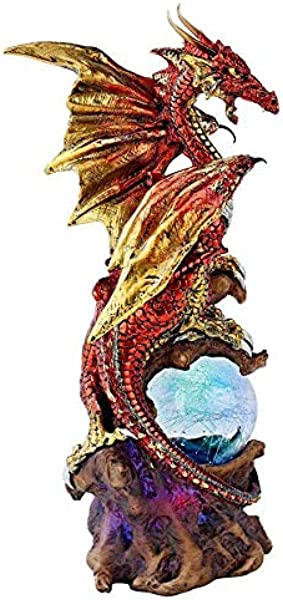 Design Toscano Dragon Defender Of Life Source Orb
