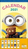 Minion 2021 Calendar Wall-Mounted CL-70 [Specifications] 61x35cm, 13 Sheets
