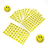 Oblique-Unique® 620 x Smiley Sticker Aufkleber...