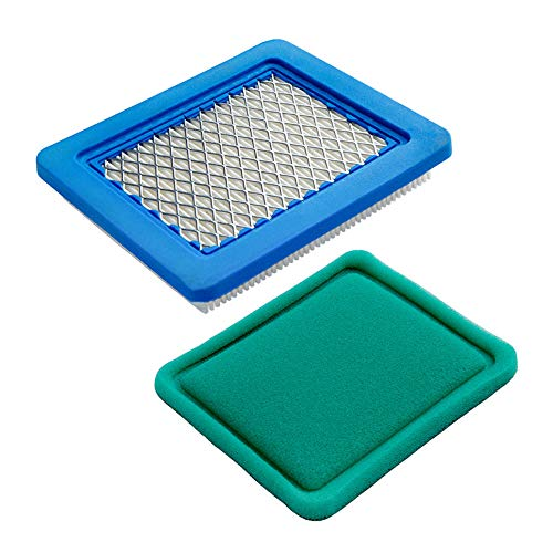 HOODELL 491588s Air Filter with Pre Filter, Compatible with Briggs and Stratton 491588, Toro 20332, Craftsman 3364, Premium Lawn Mower Air Cleaner