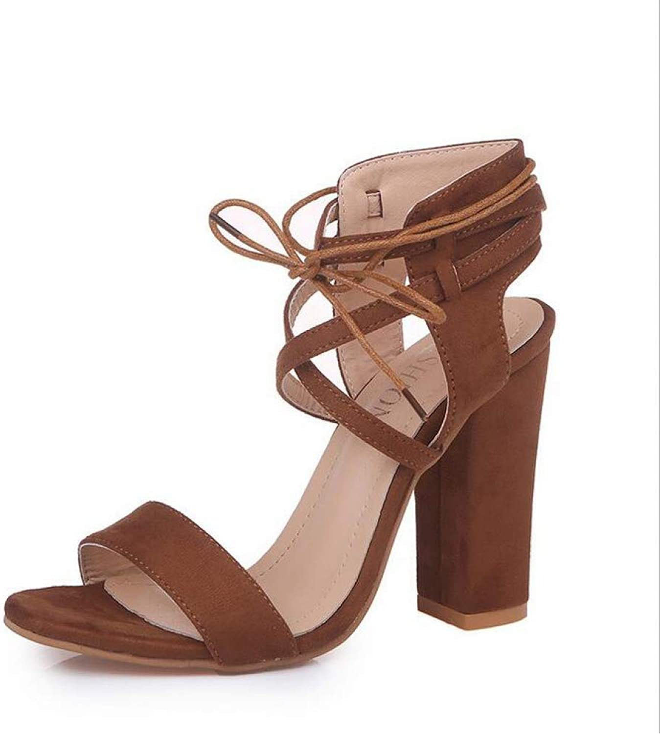 T-JULY Wedge Sandals for Women Summer Strap Square Chunky High Heels Wedding Party Ladies shoes