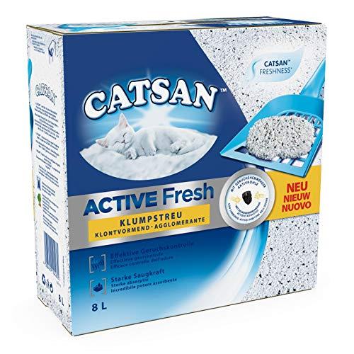 Catsan Active Fresh Lettiera per Gatti - 2 x 8L