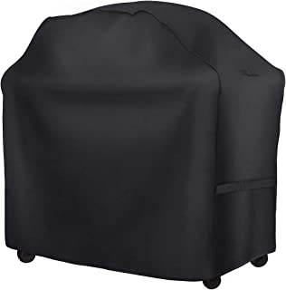 HONEST OUTFITTERS Gas Grill Cover, 58-inch 600D Heavy Duty Waterproof BBQ Grill Cover with Handles and Straps for Weber,Ho...
