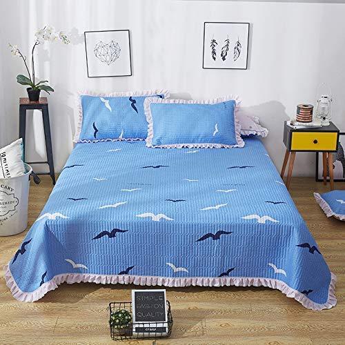 Colcha acolchada 100% algodón, 3 piezas, multiusos, patchwork, edredón, manta, sábanas, juego de cama, funda de cama, funda de almohada, decoración para el hogar, adecuado para las cuatro estaciones,