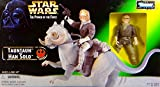Star Wars Power of the Force Beast Packs Han Solo and TaunTaun Action Figures By Kenner