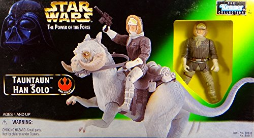 Hasbro Han Solo with Tauntaun - Star Wars Power of The Force Collection von Kenner