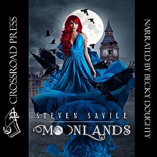 Moonlands audiobook cover art