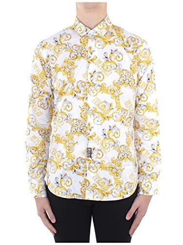 Versace Camicie Motivo Barocco Colore Oro 50