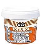 GEB - Toiturol Pâte à base de dérivés bitumeux pour l'étanchéité des toitures...