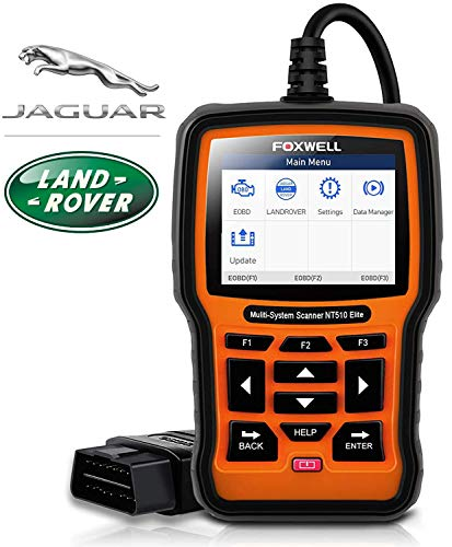 Find Bargain FOXWELL NT510 Elite Professional Automotive OBD2 Scanner for Land Rover and Jaguar Code...