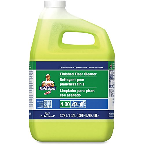 Mr. Clean 02621EA Finished Floor Cleaner, Lemon Scent, One Gallon Bottle