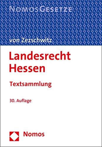 Landesrecht Hessen: Textsammlung