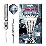 Unicorn Silver Star Gary Anderson Dardos, Hombre, Azul, Size 24G
