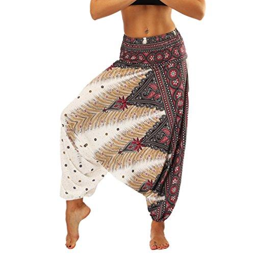 Lvguang Pantalones De Estilo Hippie De Los