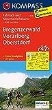 KOMPASS Fahrradkarte Bregenzerwald - Vorarlberg - Oberstdorf: Fahrrad- und Mountainbikekarte. GPS-genau. 1:70000 (KOMPASS-Fahrradkarten Deutschland, Band 3126) - KOMPASS-Karten GmbH