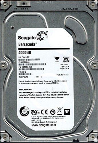 Seagate ST4000DM000P/N: 1cd168–568F/W: CC434TB TK