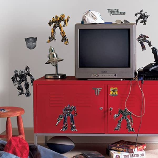 ROOMMATES RMK1091SCS Transformers 3 Peel Stick Wall Decals