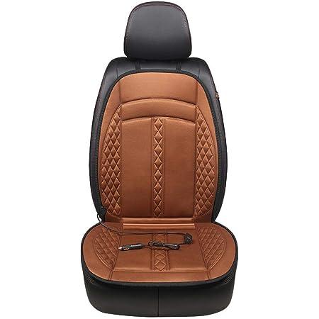 Seasaleshop Auto Sitzkissen Beheizbar Sitzauflage Sitzheizung Aufwärmen Für Auto Zuhause Büro Stuhl Doppelsteckdose 12v Universal Beheiztes Autositzkissen Multifunktions Wärmer Auto Sitzheizung Auto