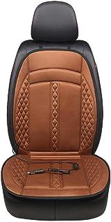Seasaleshop Auto Sitzkissen Beheizbar Sitzauflage Sitzheizung Aufwärmen Für Auto Zuhause Büro Stuhl Doppelsteckdose 12V Universal Beheiztes Autositzkissen Multifunktions Wärmer Auto Sitzheizung.