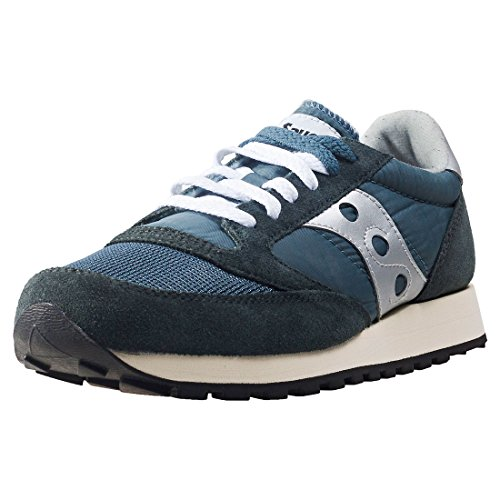 Saucony Jazz Original Vintage, Zapatillas de Cross Unisex Adulto, Azul (Blue/Navy/Silver 4), 40 EU