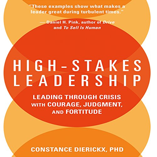 High-Stakes Leadership cover art