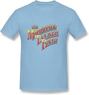 Maerxlinz Men's The Marshall Tucker Band Rainbow Logo Fashion Leisure Cool T-Shirt