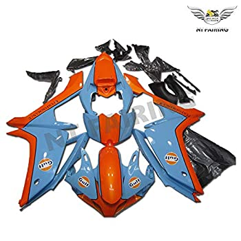 NT Orange Fairing Fit for YAMAHA 2007 2008 YZF R1 Injection Mold ABS Plastics Aftermarket Bodywork Bodyframe 07 08 A070