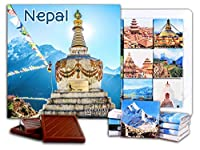 "DA CHOCOLATE キャンディ スーベニア ""ネパール"" NEPAL チョコレートセット 5×5一箱 (Monument)"