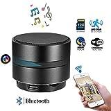 WFGZQ 2020NEW Cámara Oculta Bluetooth Spy, Altavoz Inalámbrico 4K HD, Cámara Vigilancia De Seguridad para El Hogar Cámaras IP Seguridad para El Hogar con Detección De Movimiento