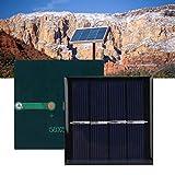 Panel solar, panel solar plegable polisilicon 2V 0.45W para al...