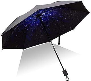 Compact Sun&Rain Travel Umbrella - Auma Windproof, Reinforced Canopy, Lightweight Portable Umbrella with UV Protection-Sta...