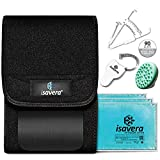 Isavera Fat Freezing System | 'Freeze Fat' at Home | Cold Body Sculpting Wrap/Belt | Helps Target Look of Tummy & Shape Stomach | Fat Freezing Waist Trainer Black