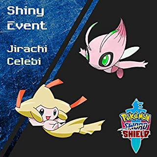 Shiny Legendary Event Celebi and Jirachi for Sword and Shield