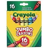 Crayola 52-0390 Jumbo Crayons - 16 unidades