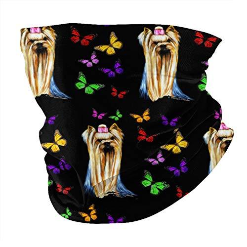 Xinflag@10 Mariposas unisex de moda para la cara, pañuelo, pañuelo para la cabeza, bufanda, tubo de cara, cuello y bufanda variada