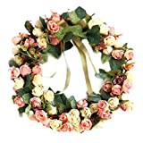 ZHongWei - Corona de Navidad Corona de Navidad, Decoraciones de Navidad, Artificial Corona, decoración de la Puerta, Muebles Decorativos, Corona Decorativa Arboles de Navidad (Size : 35x35cm)