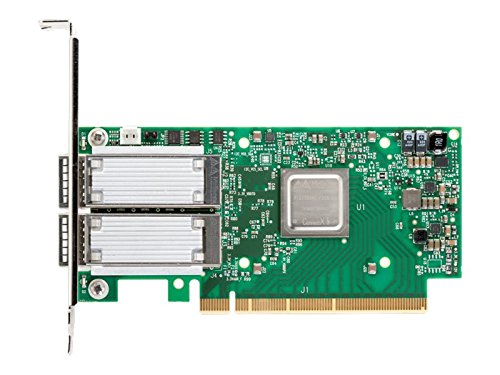 Mellanox ConnectX-5 EN Netzwerkadapter PCI Express 3.0 x8 GB Ethernet 10 GB Ethernet 25 GB Ethernet grün/Silber (MCX512A-ACAT)