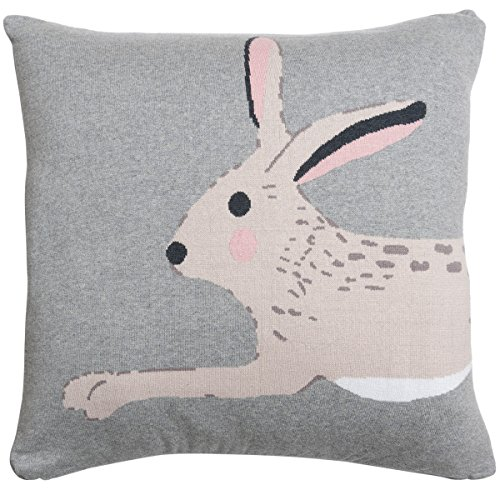 Sophie Allport Hare Knitted Statement Cushion