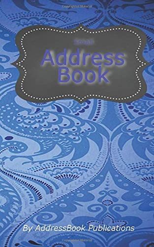 """Small Address Book: Address and Telephone With Soft Cove 5"""" X 8"""""""