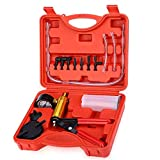 2 in 1 Brake Bleeder Kit & Handheld Vacuum Pump Tester Set for Automotive Tuner Tools