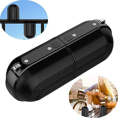 WYGC Speakers Altavoz Bluetooth Tipo Estéreo Portátil Al Aire Libre De La Fractura del Altavoz Magnético Impermeable De Bluetooth Mini Altavoz Durable para El Partido Casero, Acampando
